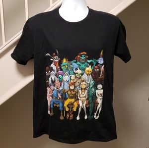 Other - Gorillaz Monkey Journey To The West Large Shirt